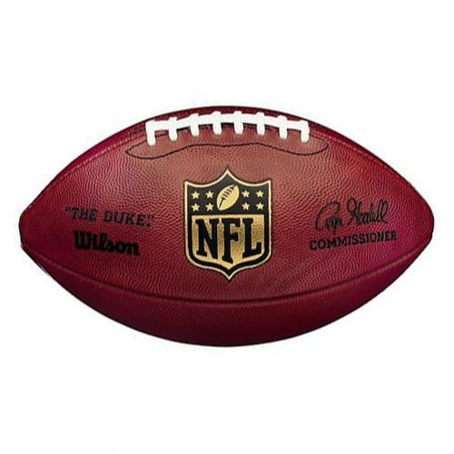 Wilson Official Nfl Game Football The Duke Comissioner Roger Goodell The Philly Show