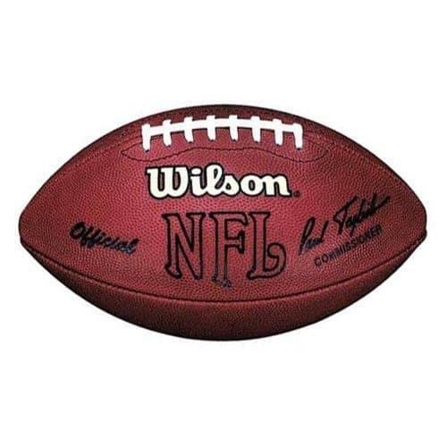 "e957ec6add2 Wilson Official NFL Game Football ""The Duke"" – Comissioner Paul Tagliabue"